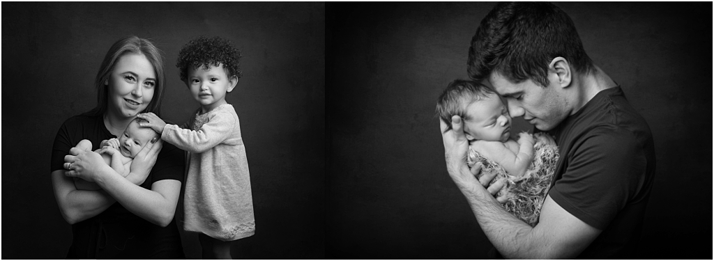 Tiny Baby Studio Newcastle Newborn photographer parents photos