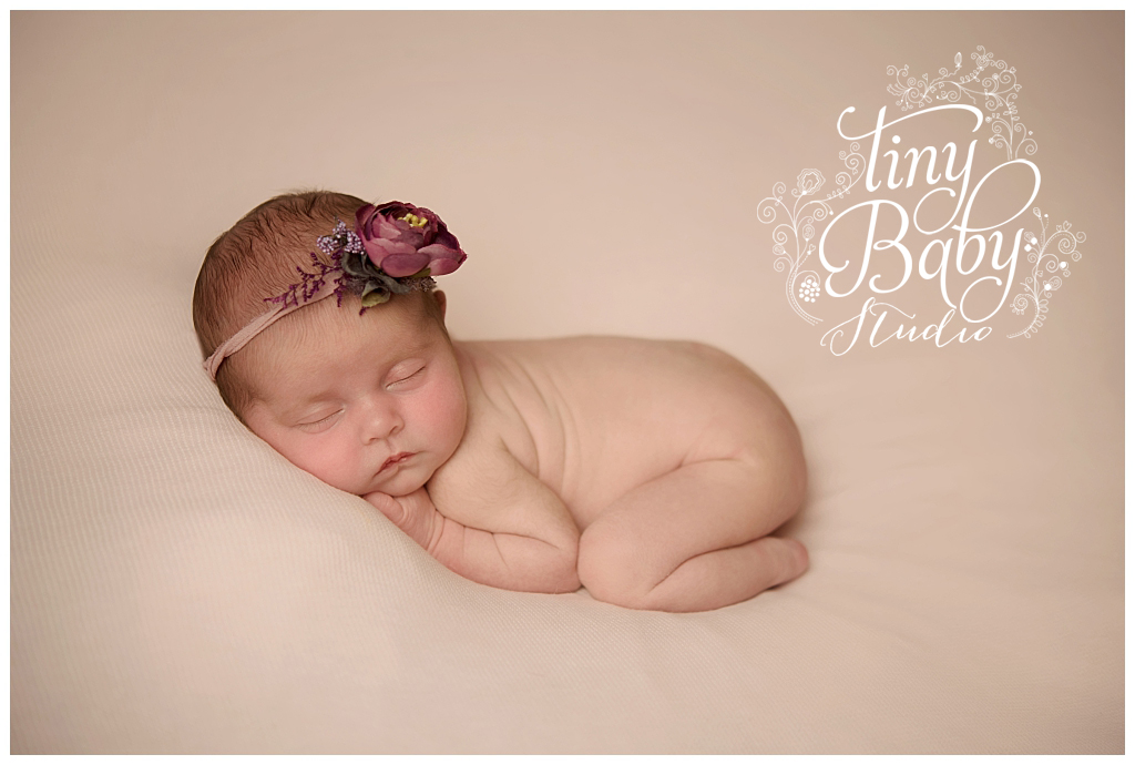 Tiny Baby Studio Newcastle Baby Photography Flower Crown