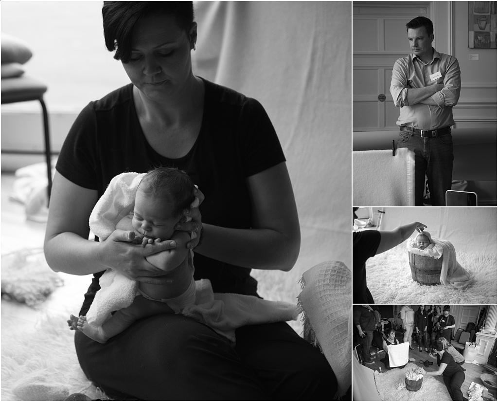 Tiny Baby Studio Newcastle Baby photography Kelly Brown Russ Jackson