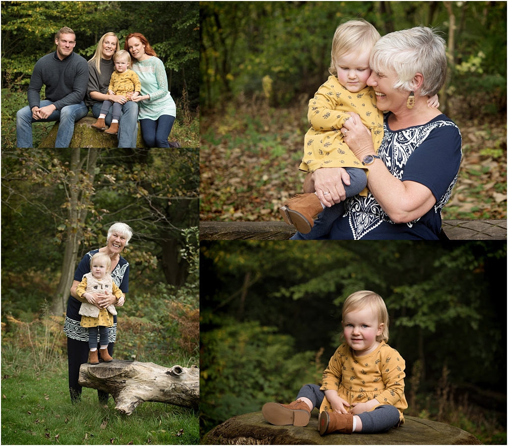 Tiny Baby Studio Newcastle Family Portraits Bolam Lake Grandparents
