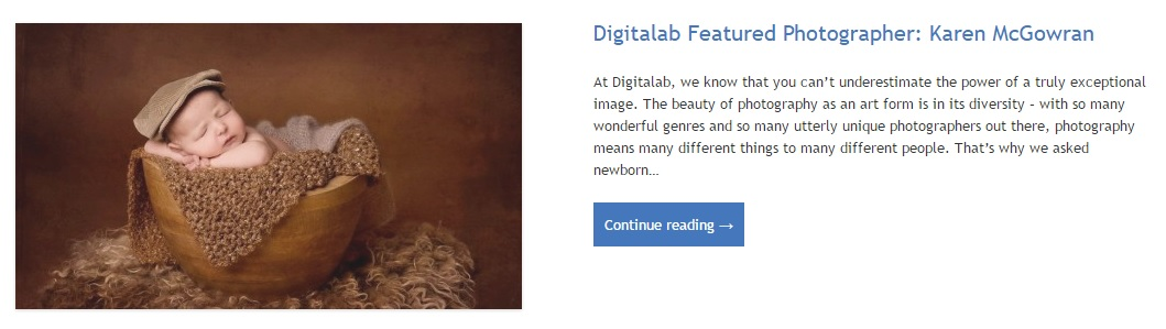 I am a Featured Photographer with Digitalab Professional Photo Lab