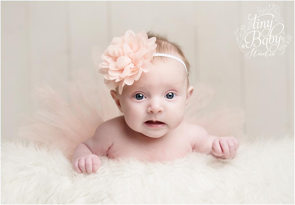 Tiny Baby Studio Newcastle newborn baby photographer baby tutu
