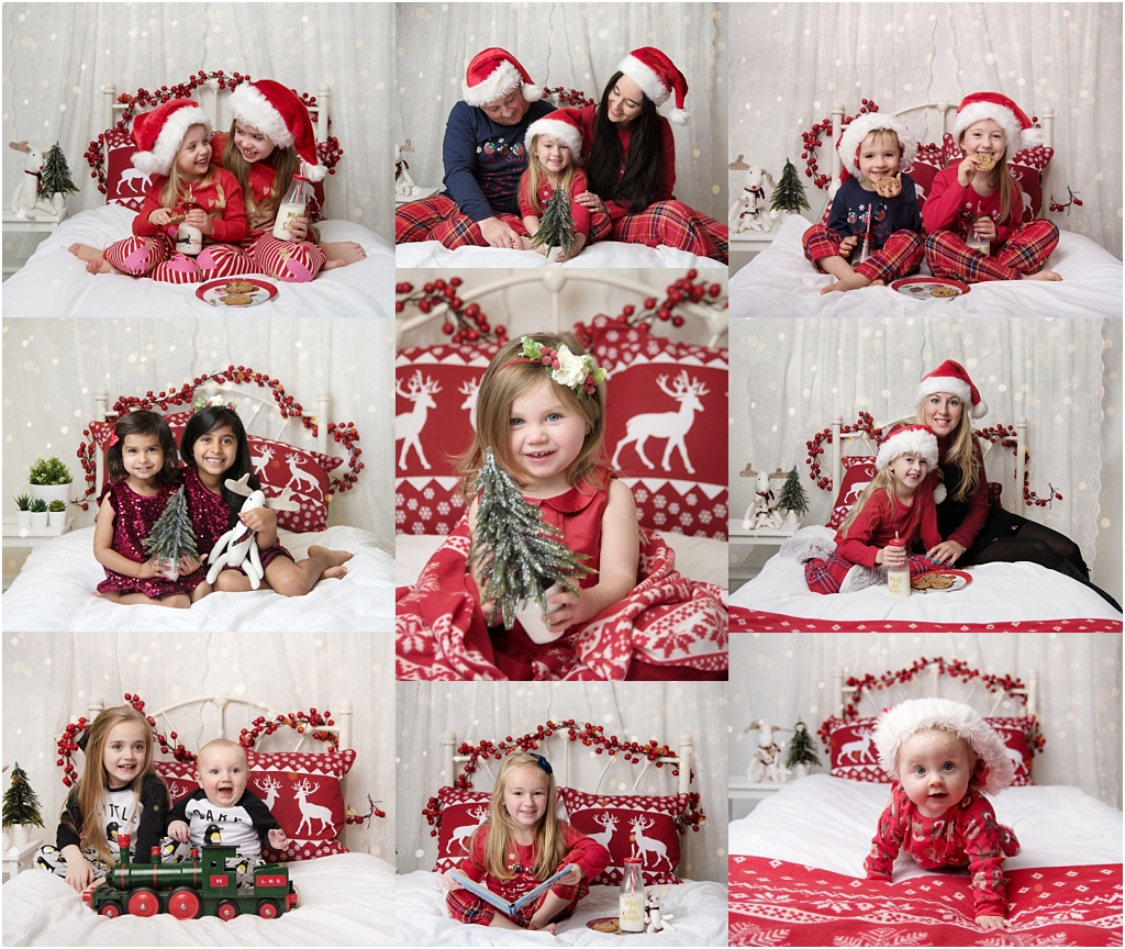 Tiny Baby Studio Newcastle Newborn Baby Photographer Christmas mini sessions