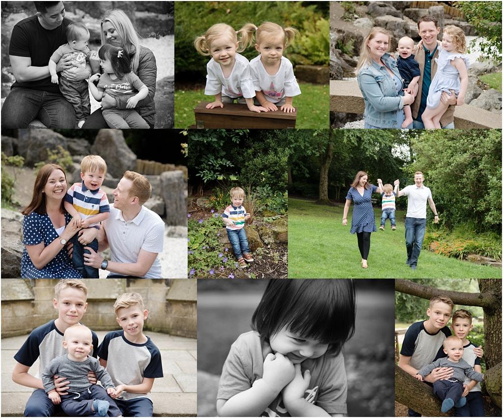 Tiny Baby Studio Newcastle Newborn Baby Photographer family mini sessions saltwell park