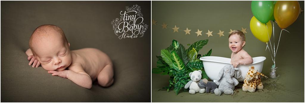 tiny-baby-studio-newcastle-newborn-baby-photographer-green