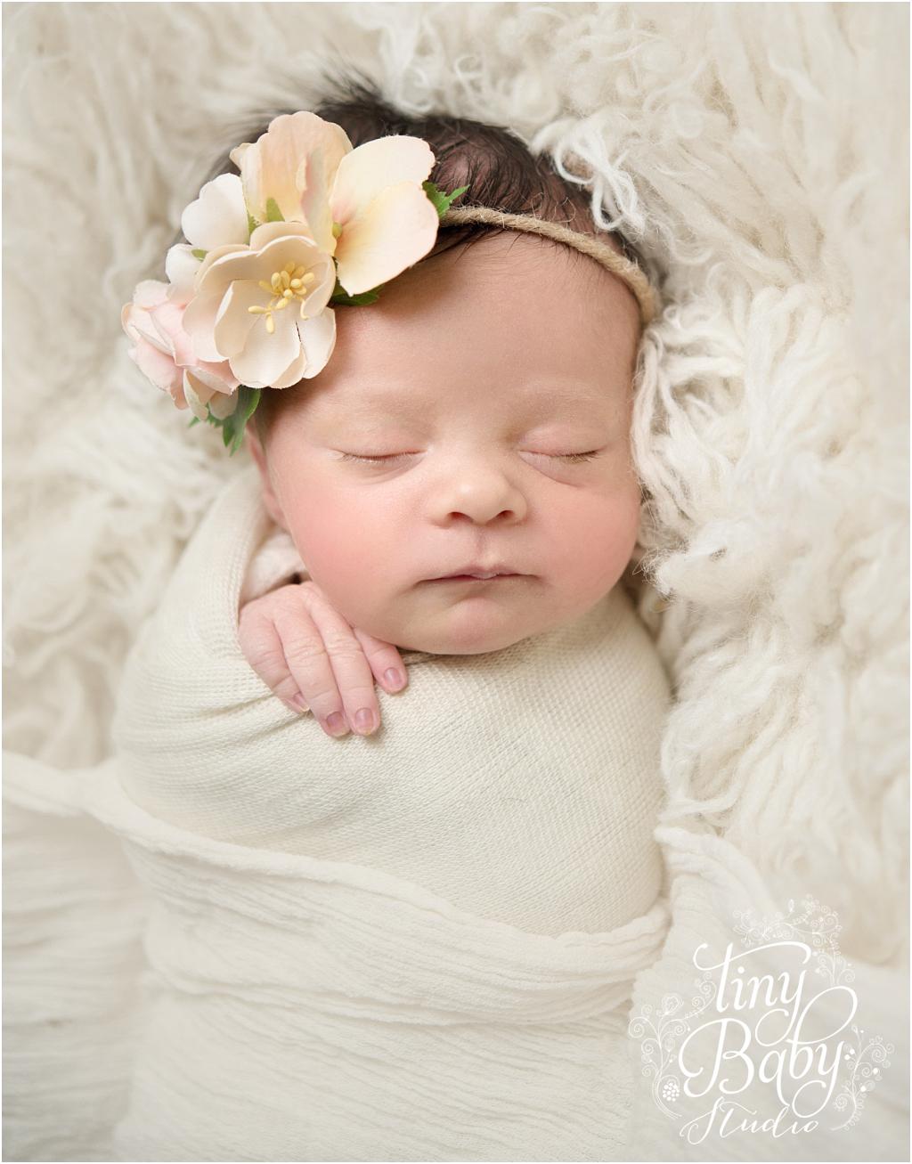 Tiny Baby Studio Newcastle newborn baby photographer newborn baby girl