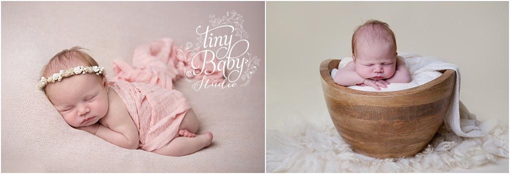 Tiny Baby Studio Newcastle Newborn Baby Photographer Newborn Pink Newborn Photos