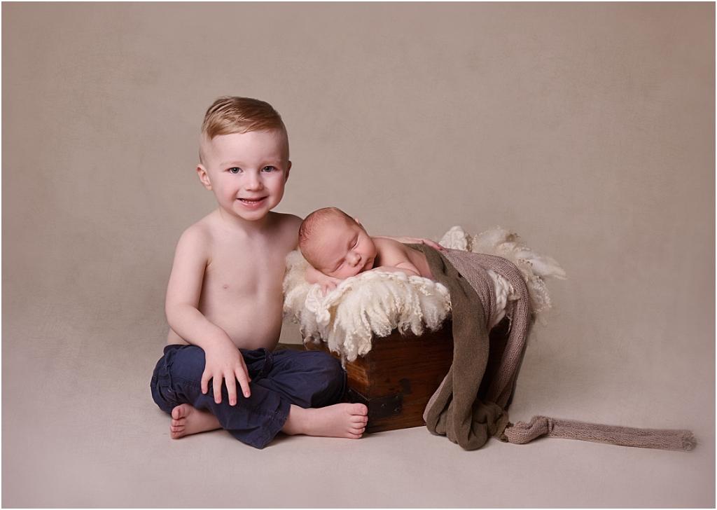 Tiny Baby Studio Newcastle Newborn Baby Photographer Siblings Props