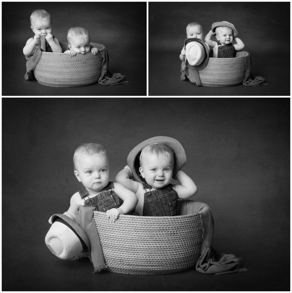 Tiny Baby Studio Newcastle Newborn Photographer Cake Smash Twins
