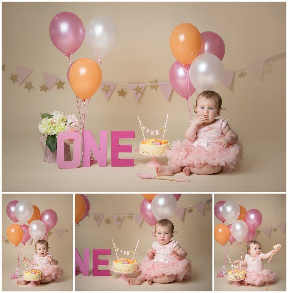 Tiny Baby Studio Newcastle Newborn Photographer Cake Smash Age One
