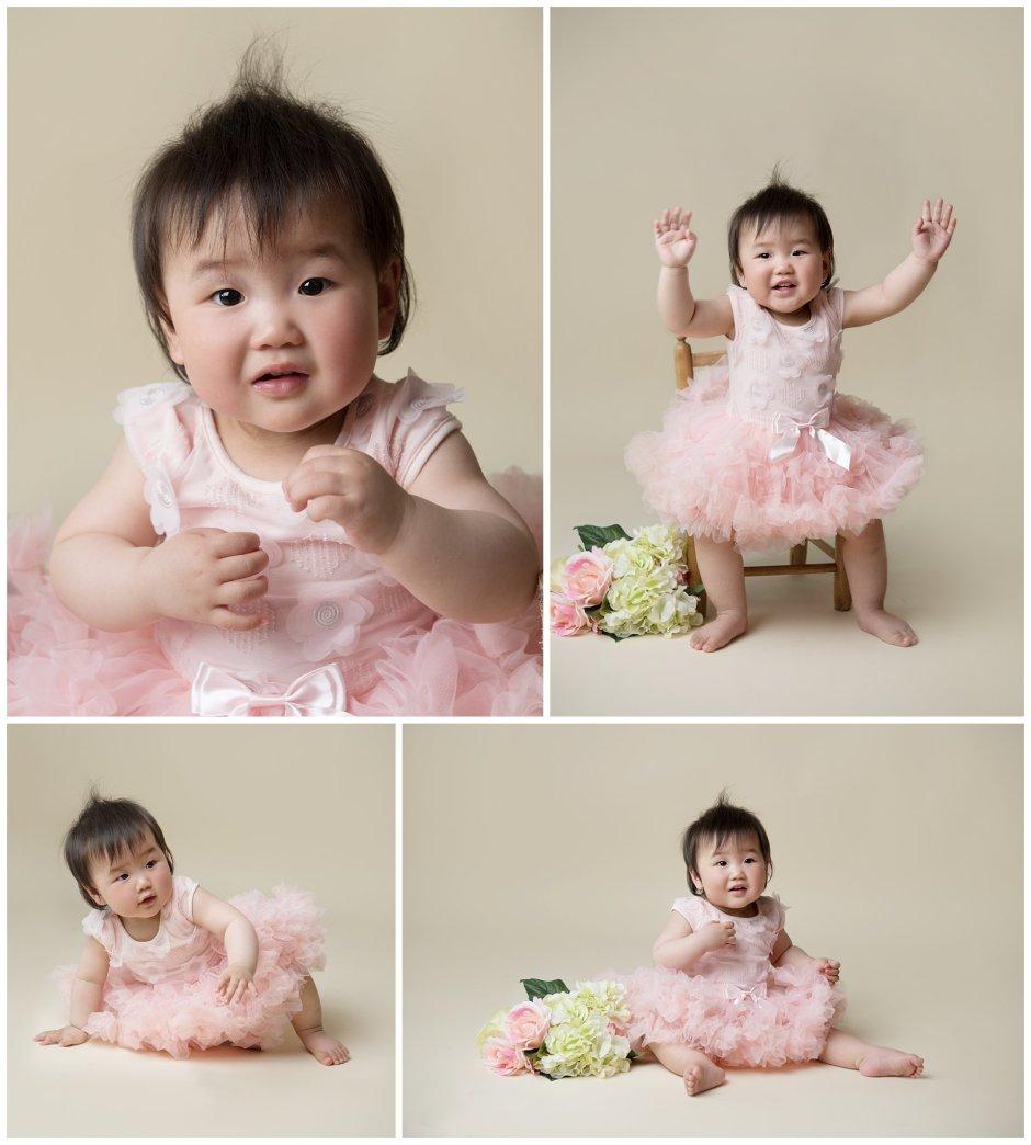 Tiny Baby Studio Newcastle Newborn Photographer First Birthday Portraits