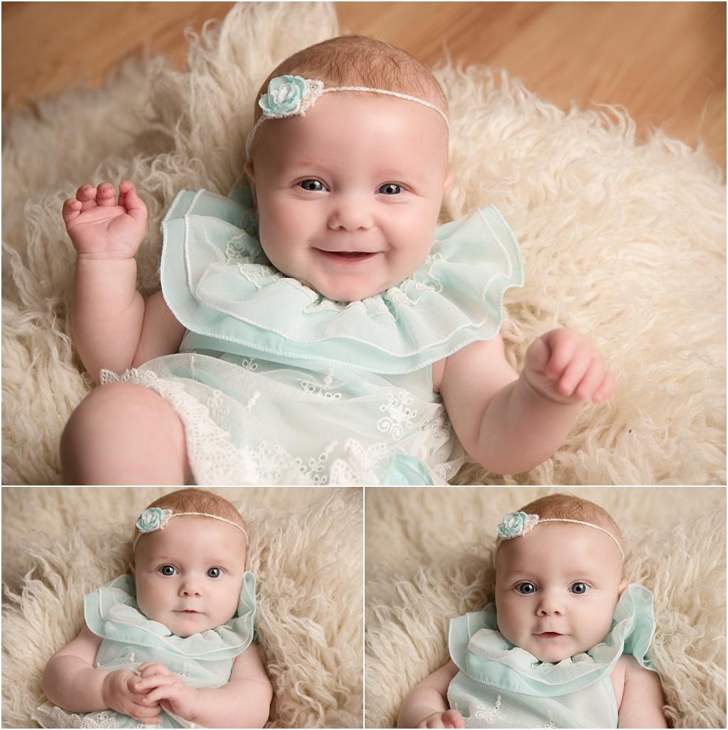 Tiny Baby Studio Newcastle Newborn Photographer Older Newborns Baby Girl