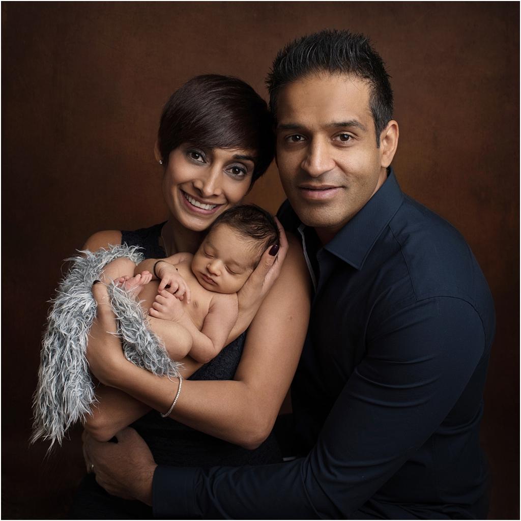 tiny baby studio newcastle newborn photographer parents