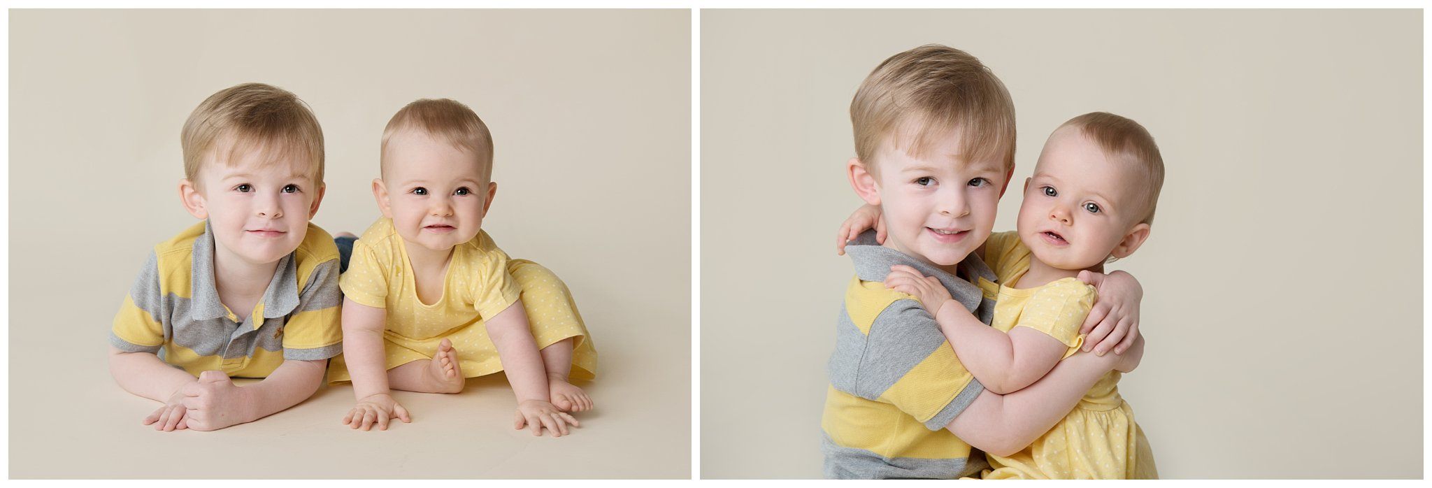 Tiny Baby Studio Newcastle Newborn Photographer Siblings First Birthday