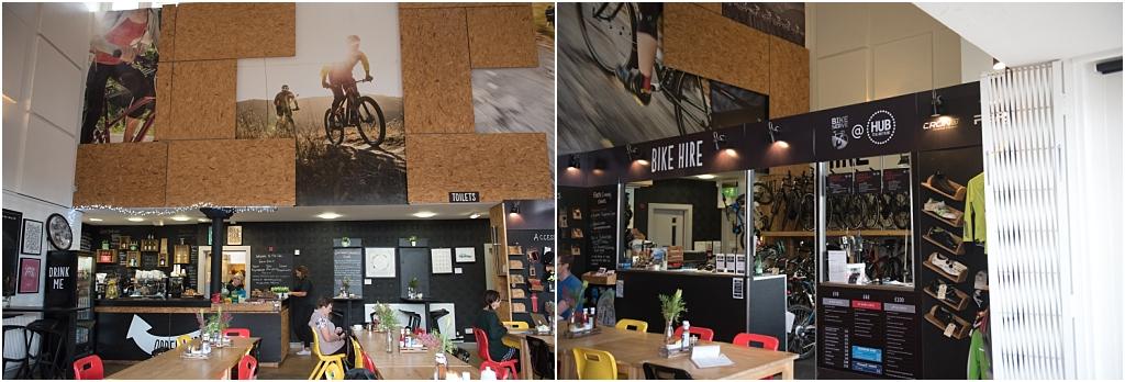 Tiny Baby Studio Newcastle Newborn Photography Ouseburn The Cycle Hub Cafe
